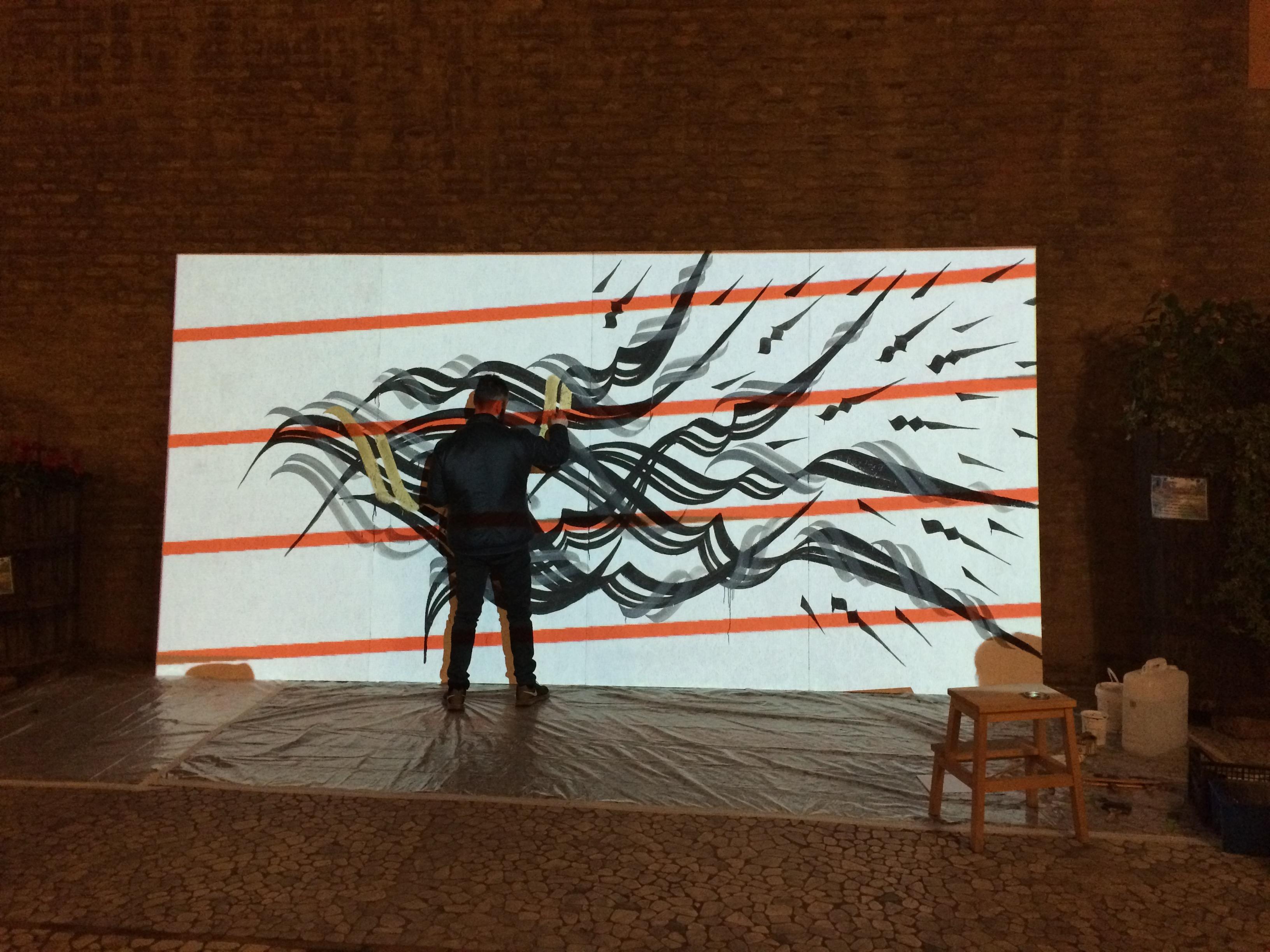 Andrea Cimatti presenta Domenico Romeo in una performance Live 30