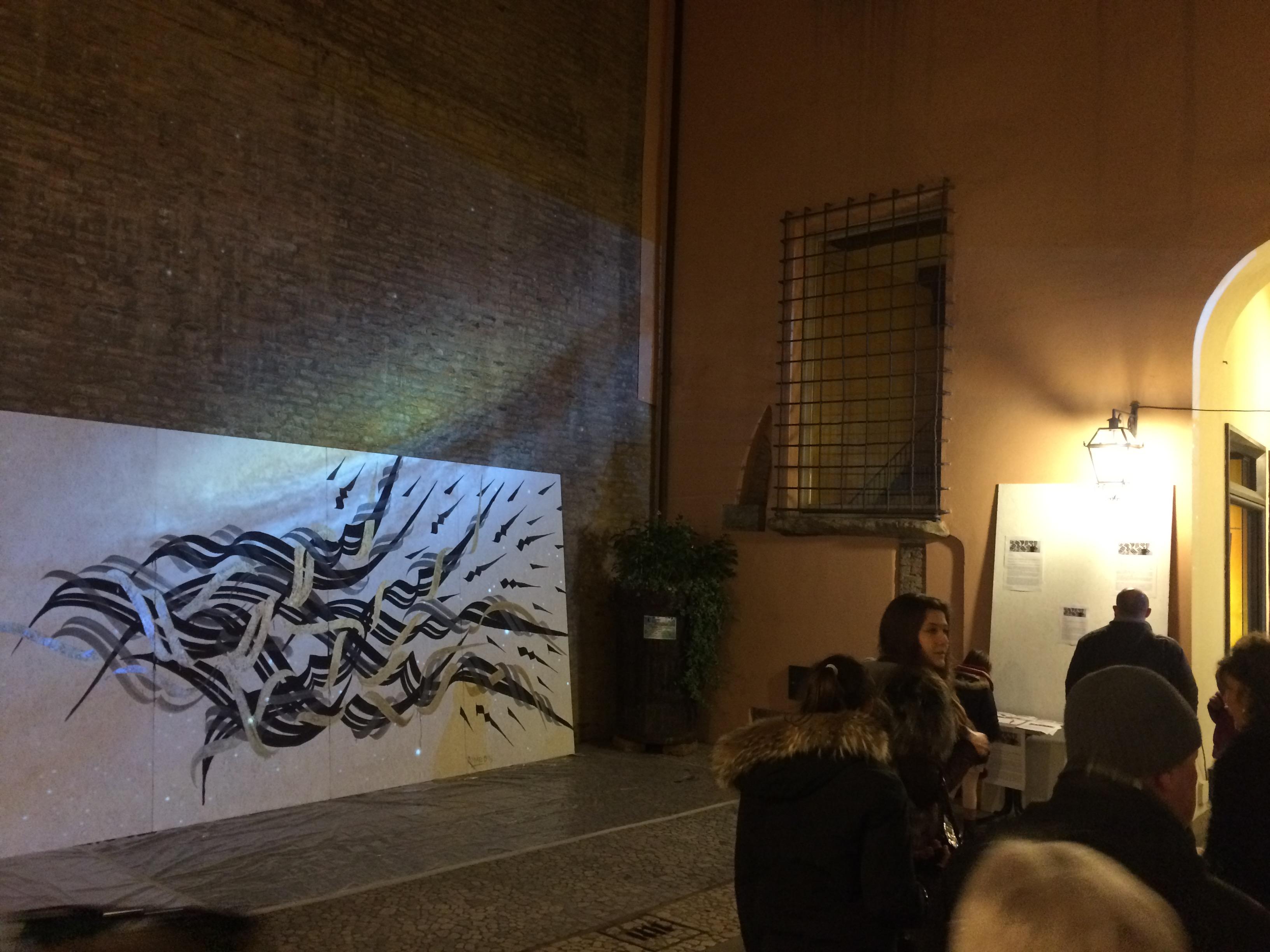 Andrea Cimatti presenta Domenico Romeo in una performance Live 33