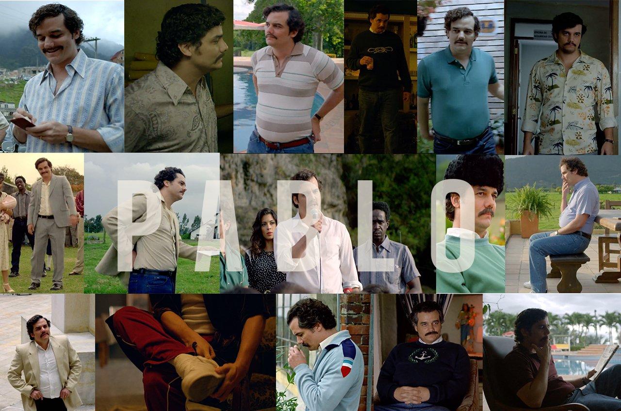 Pablo Escobar telefilm narcos