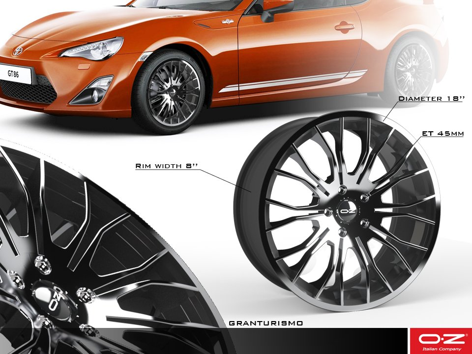 oz cimatti parentela design GRANTURISMO wheel