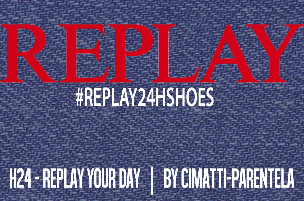 Replay h24 shoes concept for him and for her