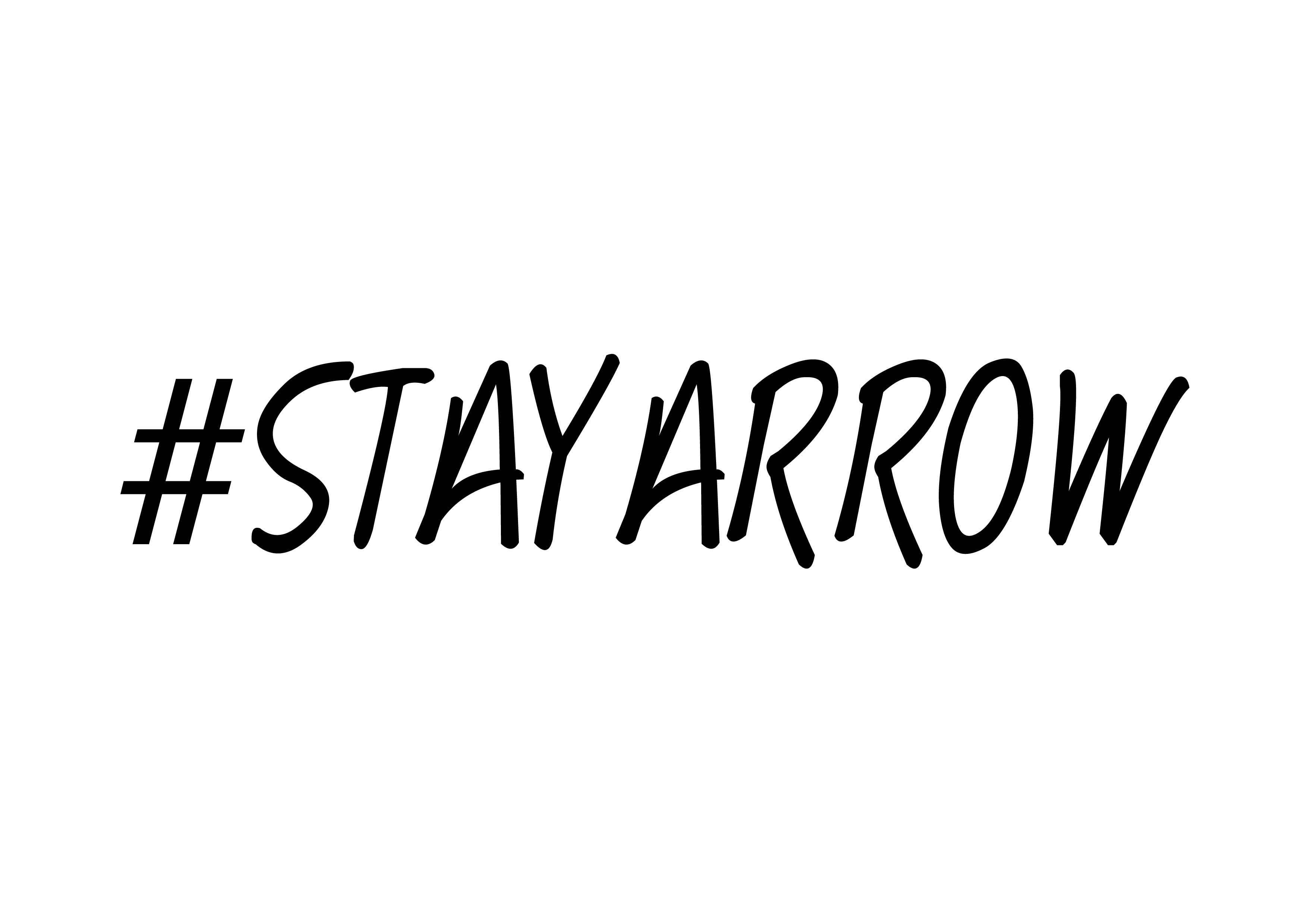 stay arrow citazione andrea cimatti