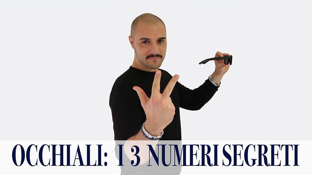 i tre numeri per comprare gli occhiali
