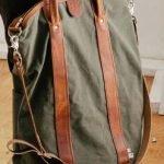 11 tipi di borsa da uomo vintage look