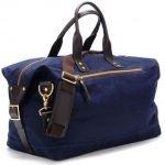 11 tipi di borsa da uomo borsa da uomo blu in tessuto