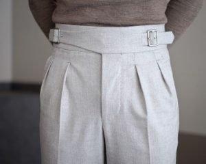 Tra le 9 TENDENZE UOMO PER LA PRIMAVERA ESTATE 2019 troviamo i pantaloni sartoriali